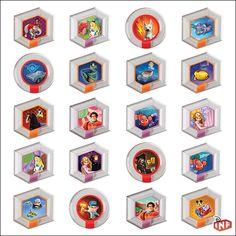 Disney Infinity Random Power Discs (http://www.blindboxes.com/disney-infinity-random-power-disc-2-pack-series-1-blind-bag/)