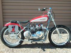 1960's Triumph Sonic Weld Flat Tracker - Vintage Racing Motorcycles