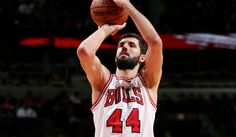 Previous Real Madrid, now Bulls Nikola Mirotic, also recent best Rookie of Eastern Conference.