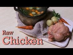 ▶ Polymer Clay Tutorial; Raw Miniature Chicken - YouTube