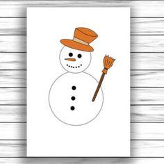 Otthon elkészíthető ovis fejlesztő játék Craft Free, Snowman, Disney Characters, Fictional Characters, Crafts For Kids, Printables, Bricolage Noel, Creative, Crafts For Children