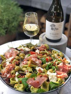 Diverse salades fam over de kook Veggie Recipes, Pasta Recipes, Salad Recipes, Cooking Recipes, Healthy Recipes, Veggie Food, Lunch Restaurants, Risotto, Best Italian Recipes