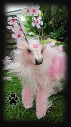 Anther the bloom caribou poseable art doll OOAK.