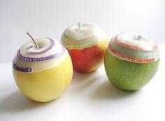 robes de pomme - Laure-Anne Caillaud  / #food_design, design culinaire