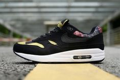 Nike Air Max 87 Black Pink Women's Casual Shoes Sneakers