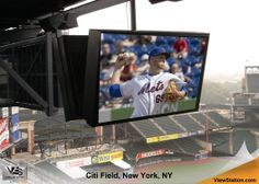 Citi Field, New York Mets, NY - ViewStation Universal & ViewStation Passively Cooled by ITSENCLOSURES #ViewStation