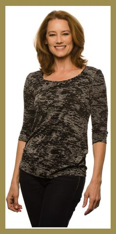 Tops that cover the baby boomer parts
