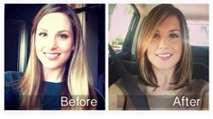 Hair makeover: long to short!