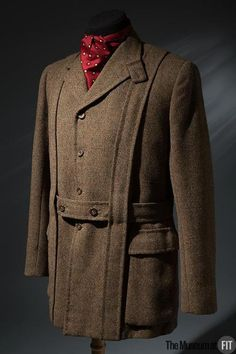 Hunting Jacket 1935 The Museum at FIT - OMG that dress!