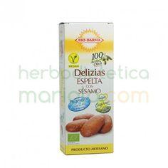 Bio-Darma, Delizias Espelta con Sésamo, linea Digestive con sirope de arroz, son muy ricas en fibra y favorecen la digestión.