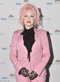 Still going:New York-native Cyndi first launched her singing career in the 1970s and rose to international stardom during the 80s.Since then, the married mother-of-one has gone on to write several award-winning albums while also extending her career into film
