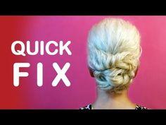 Quick Fix • Schlechte Haar-Tag? Schnelle Lösung • Anleitung