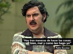 Marketing al estilo Pablo Escobar. jajajaja Interesante el análisis de @Martin Chavez