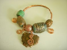 A Marvelous Marriage: Polymer Clay and Brass Stampings - Jewelry ...