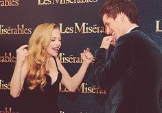 Eddie Redmayne and Amanda Seyfried. I love them so much.
