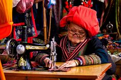 A woman from the Red Dzao tribe in Sapa, Vietnam. Picture: Tomasz Ulman of Red Hill, Surrey