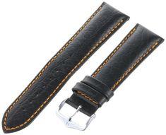 Hirsch 044020-52-22 22 -mm Genuine Calfskin Uhr Strap - http://uhr.haus/hirsch-17/hirsch-044020-52-22-22-mm-genuine-calfskin-uhr