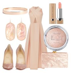 """""""Untitled #9"""" by oliviasyko on Polyvore featuring Preen, Christian Louboutin, Edie Parker, Kendra Scott, Lana Jewelry and Marc Jacobs"""