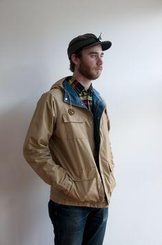 In Stock: Sierra Designs 60/40 Outerwear / Indigo & Cotton - Indigo & Cotton - Curated Menswear - Charleston, SC