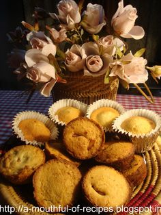 A Mouthful Of Recipes: Dates cup cakes