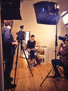 shooting blogger Sydne Summer #makeupforevericons