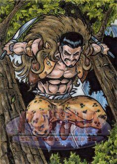 Kraven the Hunter - Sketch Card by tonyperna on DeviantArt