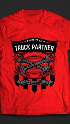 Truck Partner Mechanic T-shirt