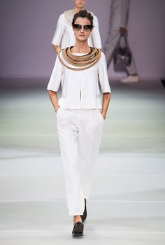 Milan Fashion Week: Giorgio Armani Spring/Summer 15