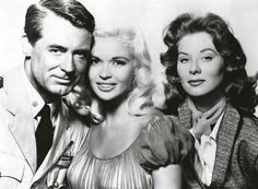Cary Grant, Jayne Mansfield en Suzy Parker