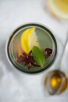 Muddled Marrakech Mint Tea : The Healthy Chef – Teresa Cutter