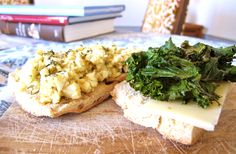 Vegetarian Picnic Sandwich: Egg Salad on Rustic Bread with Kale Chips and Sharp Cheddar Recipe