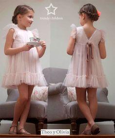 VESTIDOS DE CEREMONIA PRECIOSOS POR DELANTE Y POR DETRÁS | trendy children blog de moda infantil: