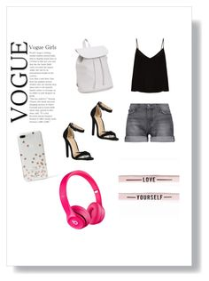 """""""the great look"""" by prachi13 ❤ liked on Polyvore featuring Current/Elliott, Raey, Aéropostale and Kate Spade"""