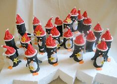 pinguin Adventskalender © http://www.wanzeline.de/pinguine.pdf über creadoo