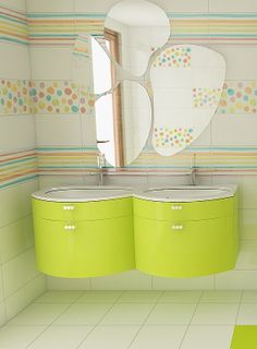 Agatha Ruiz de la Prada... best design for kids bathrooms <3