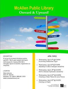 Onward & Upward. Reference Dept, April 2014.