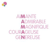 #maman #citation #bebitus #love #baby Symmetry Activities, Camping Gifts, Rock Crafts, Pinterest Blog, Words Quotes, Gifts For Mom, Vocabulary, Positive Quotes, How To Look Better
