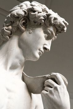 David by Michelangelo, at the Galleria Dell´Accademia, Florence, Italy. Roman Sculpture, Art Sculpture, Sculptures, Michelangelo Sculpture, Sculpture Romaine, Renaissance Kunst, Italian Renaissance, Greek Statues, Italian Statues