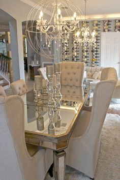 Check out these dining room ideas when thinking about a new home in Auburn, AL. Go to HomesteadAuburn.com to see more!