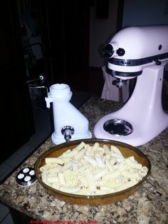 How succeeds my pasta dough - Kitchen Aid Artisan, Kitchen Aid Mixer, Kitchen Appliances, Pasta Maker, Rigatoni, Pesto Pasta, Quiche, Cooking, Food