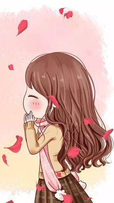 Cute Girl Iphone Wallpaper