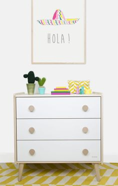 Mexican style girls nursery room by Kids Interiors Liapela.com