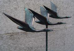 Sculpturen, bronzen beelden, Het gieten van brons, de samensmelting van mens en materie...