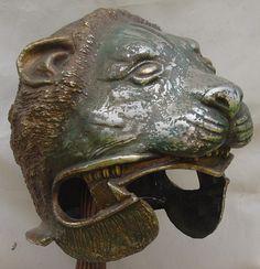Alexander helmet from Canadian Museum