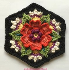 The Fifth Instalment of the Frida's Flowers Blanket Crochet-Along, designed by Jane Crowfoot and hosted by Stylecraft Yarns has just been po...