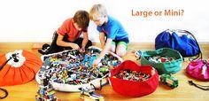 bolsa para organizar legos