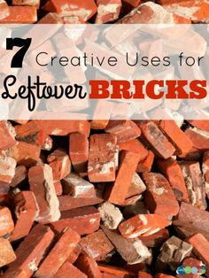 7 Creative Uses for Leftover Bricks