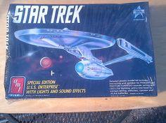 Star Trek Special Edition U.S.S. Enterprise NCC-1701-A plastic model kit
