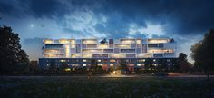 Riviera Apartments on Behance