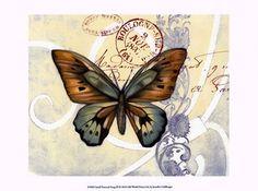 Small Postcard Song III by Jennifer Goldberger art print